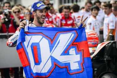 Juarai MotoGP Austria 2017, Ini Ekspresi Kebahagiaan Dovizioso