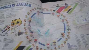 KACAU! Tidak Hanya di Buku Panduan SEA Games, Harian Malaysia Juga Memuat Gambar Bendera Indonesia Terbalik