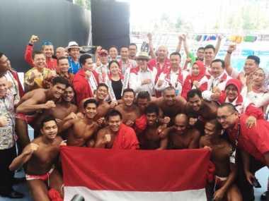 Malaysia Dikalahkan Singapura, Polo Air Putra Indonesia Raih Medali Perak