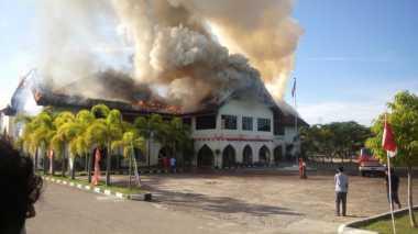 Waduh! Kampus Universitas Malikussaleh Dibakar Mantan Pegawai, Pihak Rektorat: Dia Tidak Disiplin