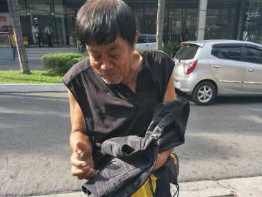 Sedih! Dijanjikan Akan Diobati, Pria Penderita Kanker Ini Justru Telantar