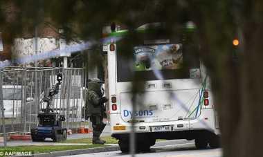 Dag Dig Dug.. Ruas Jalan Melbourne Ditutup karena Dugaan Bom di Sebuah Bus