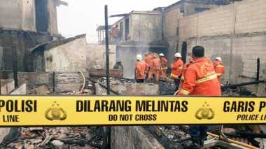 Antisipasi Penjarahan Pasca-Kebakaran, Polisi Jaga 260 Rumah di Kebon Pala