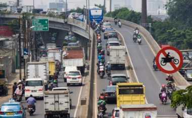 Ingat! Sepeda Motor Mulai Dilarang Melintas di Rasuna Said-Sudirman 11 Oktober 2017