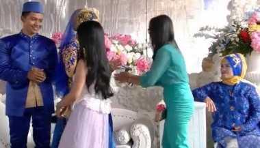 Tamu Misterius Ogah Salami Pengantin Wanita, Netizen: Mungkin Mantan Pacar Suaminya!