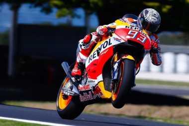 Jelang Balapan di GP Inggris, Marquez Lakukan Sesi Uji Coba di Misano