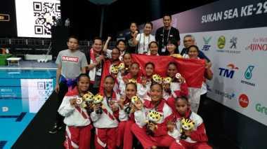 SEA Games 2017: Keren, Renang Indah Kembali Sumbang Medali