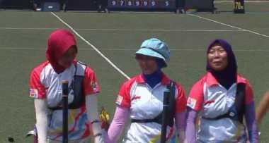 SEA Games 2017: Gagal Taklukkan Malaysia, Tim Panahan Putri Indonesia Raih Perak