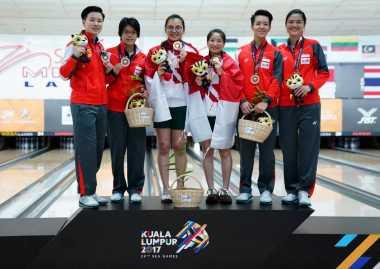 SEA Games 2017 : Tambah Medali, Bowling dan Renang Persembahkan Emas Ke-6 dan 7 bagi Indonesia