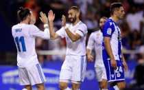 Bungkam Deportivo 3 Gol Tanpa Balas, Madrid Puncaki Klasemen Liga Spanyol 2017-2018