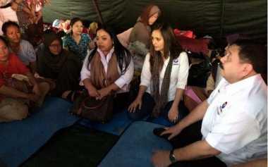 Doa Tulus Kartini Perindo untuk Korban Kebakaran Jatinegara agar Tetap Semangat