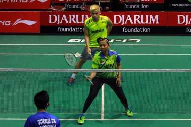 Langsung Menangkan 2 Game, Riky/Richi Tembus Babak Pertama Sirnas Open Jawa Tengah 2017