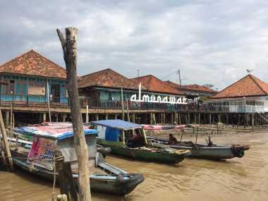 UNCOVER INDONESIA: Menilik Arsitektur Rumah Kijing Berusia 300 Tahun di Kampung Arab Al-Munawar Palembang