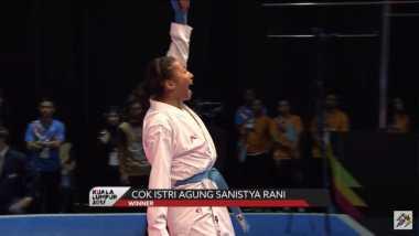 SEA Games 2017: Atletnya Tampil Impresif, Karate Sumbang Emas Ke-14 dan 15 Indonesia