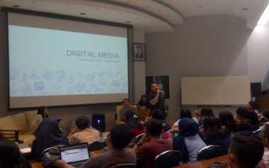 Seru! Mahasiswa Unpar Dapat Pembekalan soal Dunia Digital