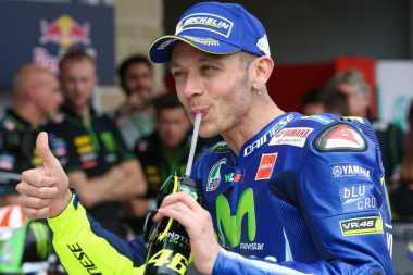Miliki Catatan Apik di GP Inggris, Rossi Yakin Bisa Raih Podium