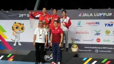 SEA Games 2017: Schooling Raih Emas, Wakil Indonesia Harus Puas Raih Perak dan Perunggu