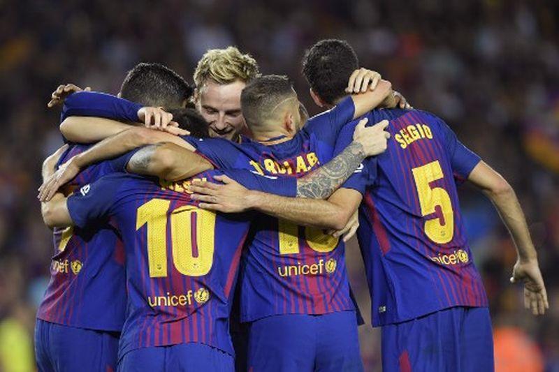 Tampil Trengginas, Barcelona Hancurkan Espanyol 5 Gol Tanpa Balas