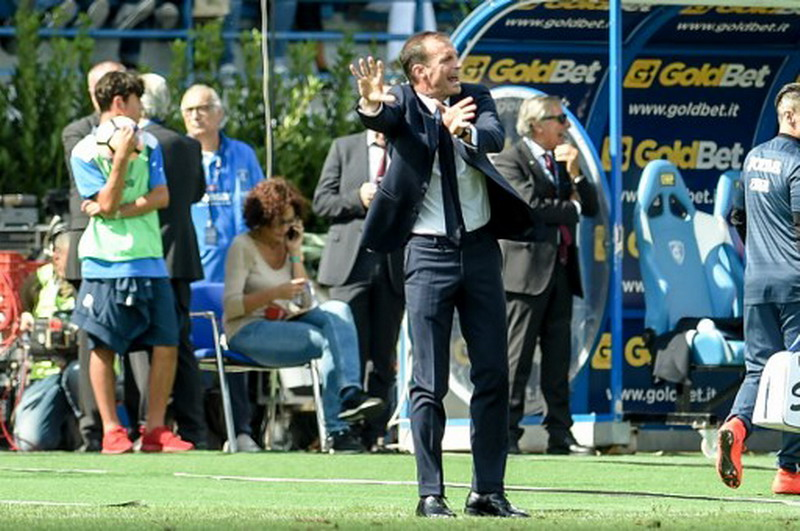 Juventus Bertandang ke Markas Barcelona di Liga Champions, Allegri: Kami Wajib Cetak Gol