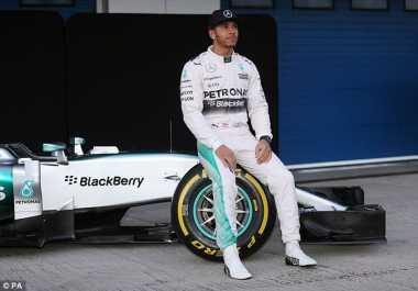 Raih Podium Utama di GP Singapura, Hamilton Bertekad Lanjutkan Tren Positif