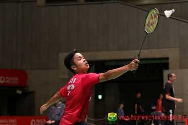 Setelah Tersingkir dari Jepang Open 2017, Anthony Ginting Fokus ke Denmark dan Prancis Open