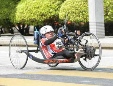 Atlet Para Cycling Sumbang Medali, Posisi Indonesia Kukuh di Klasemen ASEAN Para Games 2017