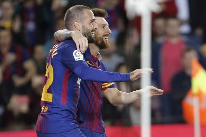 Lionel Messi Cetak Quatrick, Barcelona Libas Eibar 6-1