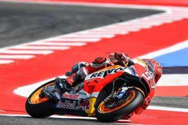 Hasil Sesi Latihan Bebas 1 MotoGP Aragon 2017, Marquez Terdepan Rossi Terpuruk