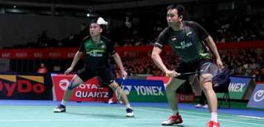 Tumbang dari Ganda Putra Nomor 1 Dunia di Babak 16 Besar Jepang Open 2017, Hendra/Tan: Lawan Bermain Lebih Rapi