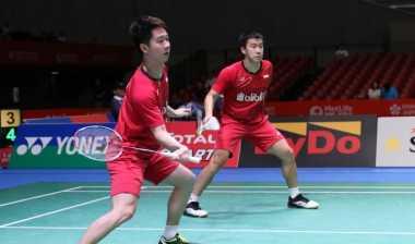 Kandaskan Pasangan Denmark, Marcus/Kevin Jejakkan Kaki di Semifinal Jepang Open 2017