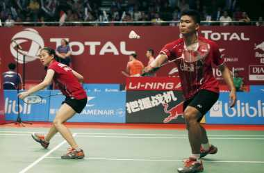 Berhasil Revans, Pasangan China Singkirkan Praveen/Debby di Semifinal Jepang Open 2017