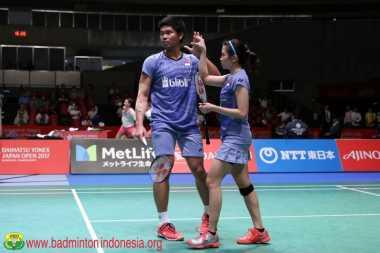Tersingkir di Semifinal Jepang Open 2017, Praveen/Debby Janji Lakukan Evaluasi Permainannya