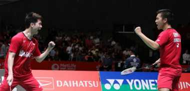 Singkirkan Musuh Bebuyutan di Semifinal Jepang Open 2017, Marcus/Kevin Belajar dari Kekalahan