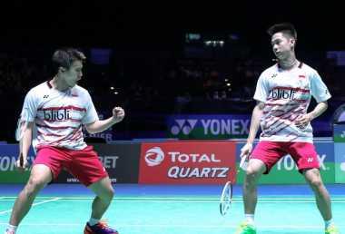 Menang atas Boe/Mogensen di Semifinal Jepang Open 2017, Marcus/Kevin Belum Merasa Balaskan Dendam