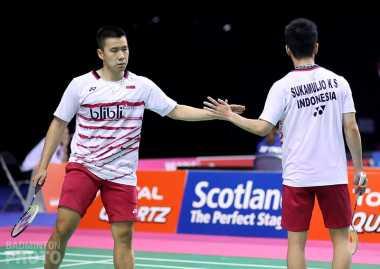 Hadapi Pasangan Tuan Rumah di Final Jepang Open 2017, Marcus/Kevin Tak Ingin Overconfident