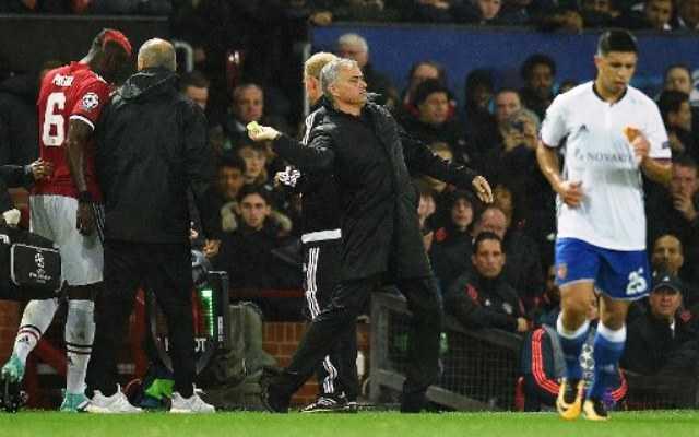 Pogba Absen karena Cedera, Jose Mourinho Justru Bersyukur?
