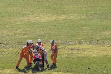 Terjatuh di Sesi Kualifikasi, Marquez Akui Kecewa dengan Penampilannya