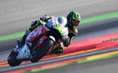 Huni Posisi 4 di Kualifikasi, Crutchlow Pede Raih Podium di MotoGP Aragon