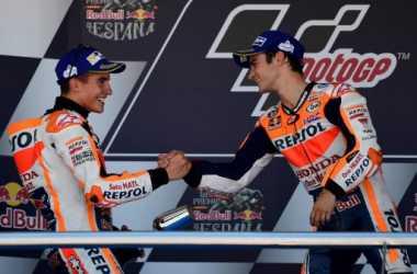 Hasil MotoGP Aragon 2017: Hadapi Duel Sengit dengan Lorenzo, Marquez Sukses Buktikan Tajinya di Aragon