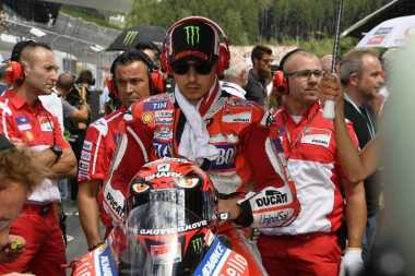 Hampir Juara di GP Aragon, Lorenzo Puas Finis Ke-3