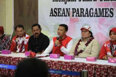 Juara Umum ASEAN Para Games 2017, Menpora Sambut Kontingen Indonesia