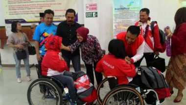 Tiba di Solo, Menpora Sambut Meriah Atlet ASEAN Para Games