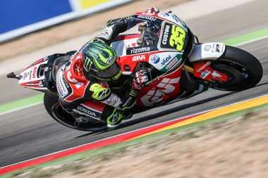 Gagal Finis di MotoGP Aragon 2017, Crutchlow: Saya Sudah Miliki Perasaan Tidak Enak