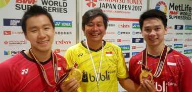 Marcus/Kevin Juarai Jepang Open 2017, Herry IP: Lawannya di Final Masih Kalah Kelas