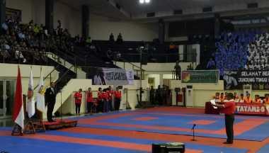 Tutup Kejurnas Karate, Panglima TNI Bakar Semangat Para Atlet untuk Persiapkan Olimpiade 2020
