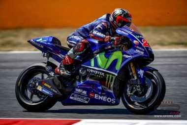 Gagal Bersaing di MotoGP Aragon, Vinales Ungkap Pemilihan Ban Jadi Faktor Kekalahannya