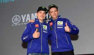 Salip Rossi di MotoGP Aragon, Vinales: Saya Terus Lakukan Manuver hingga Garis Finis