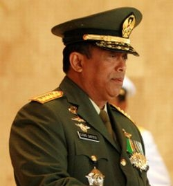 Panglima TNI Jenderal TNI Djoko Santoso