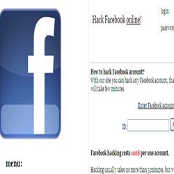 Situs Hacking Akun Facebook Ditemukan
