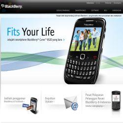 Situs Resmi Blackberry di Indonesia